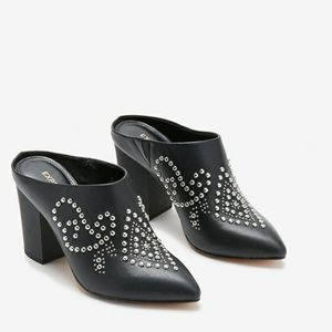 Studded Mules -